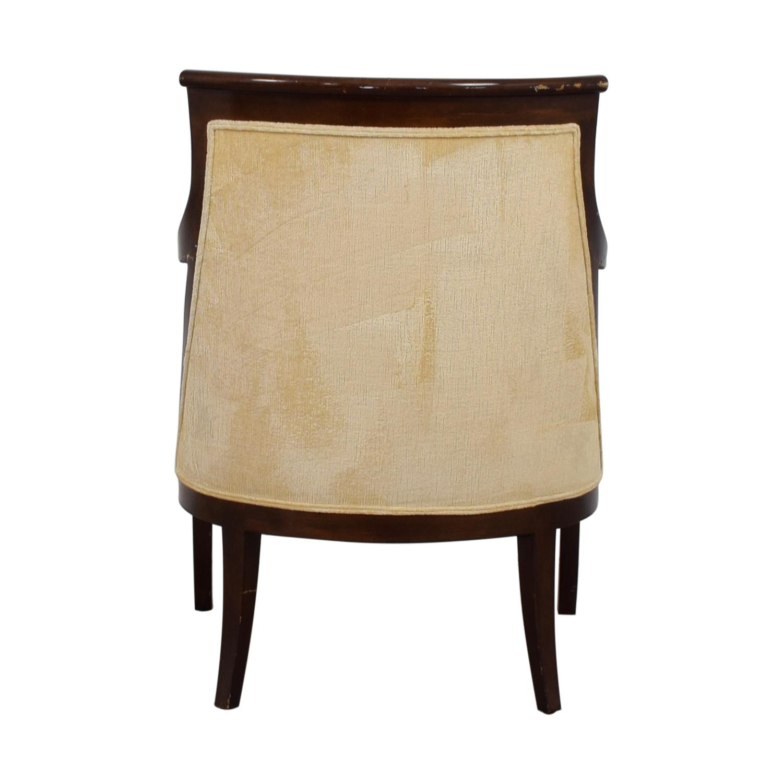 Mariette Himes Gomez Mariette Himes Gomez Beige Arm Chair on sale