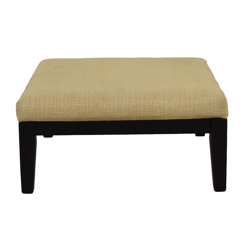 Ashley Furniture Beige Ottoman Used