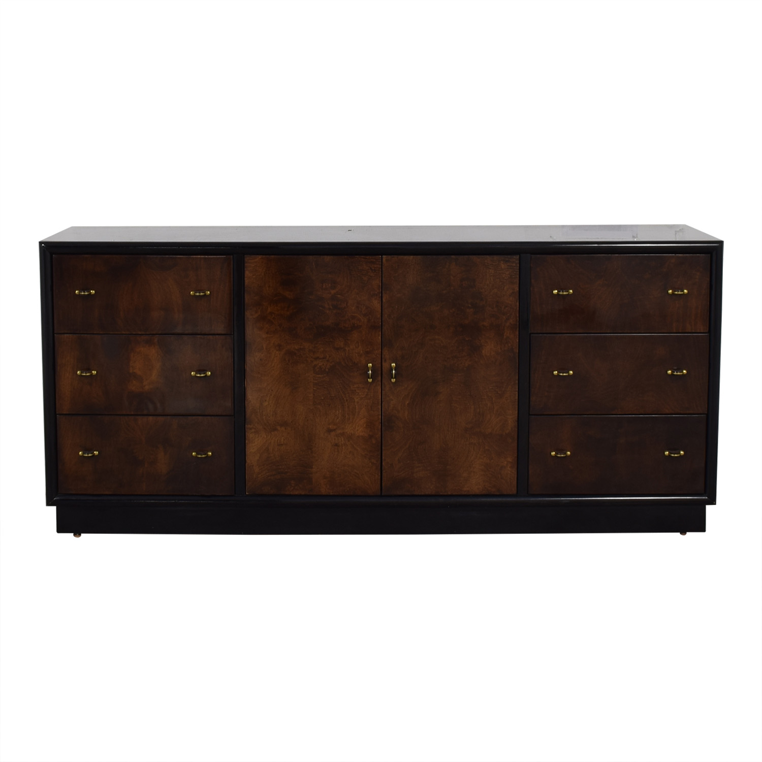 Henredon Henredon Six-Drawer Wood Buffet nj