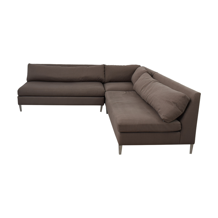 CB2 CB2 Cielo Sofa Sectional discount