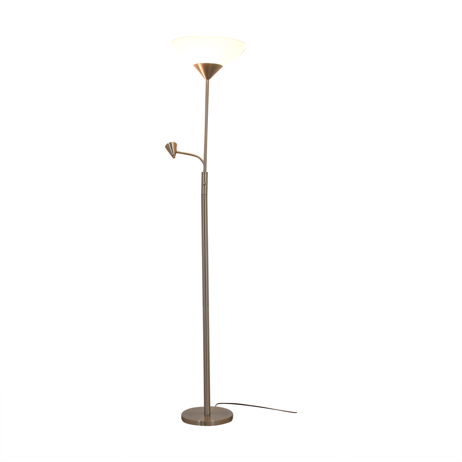 Floor Lamp with Adjustable Reading Lamp Lamps