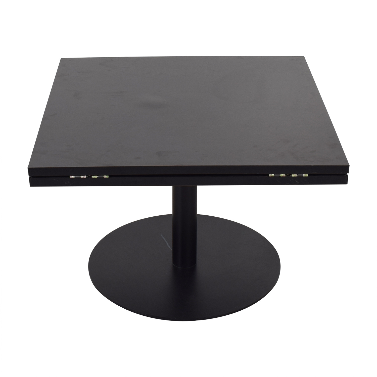 shop Black Square to Round Foldable Sides Table  Tables