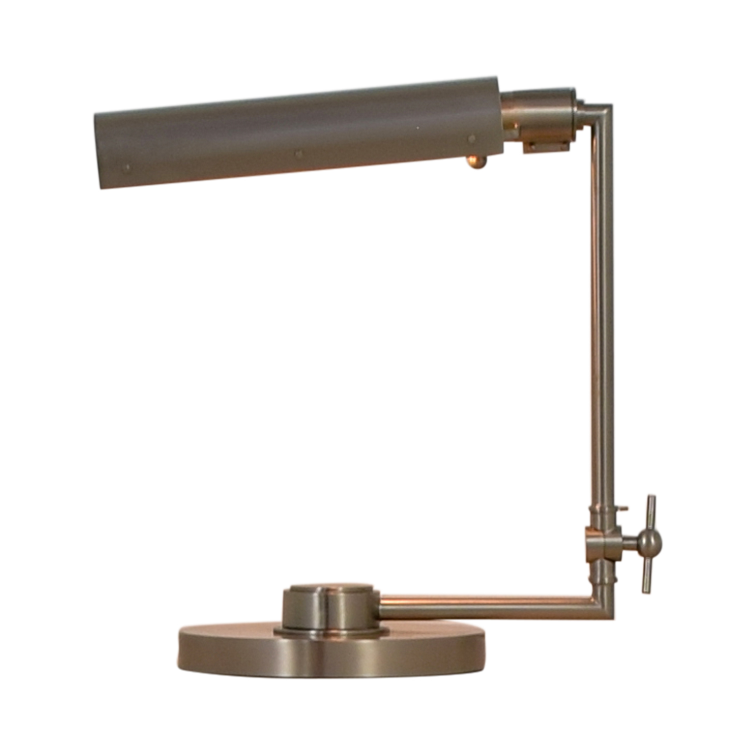 Silver Metal Desk Lamp nyc