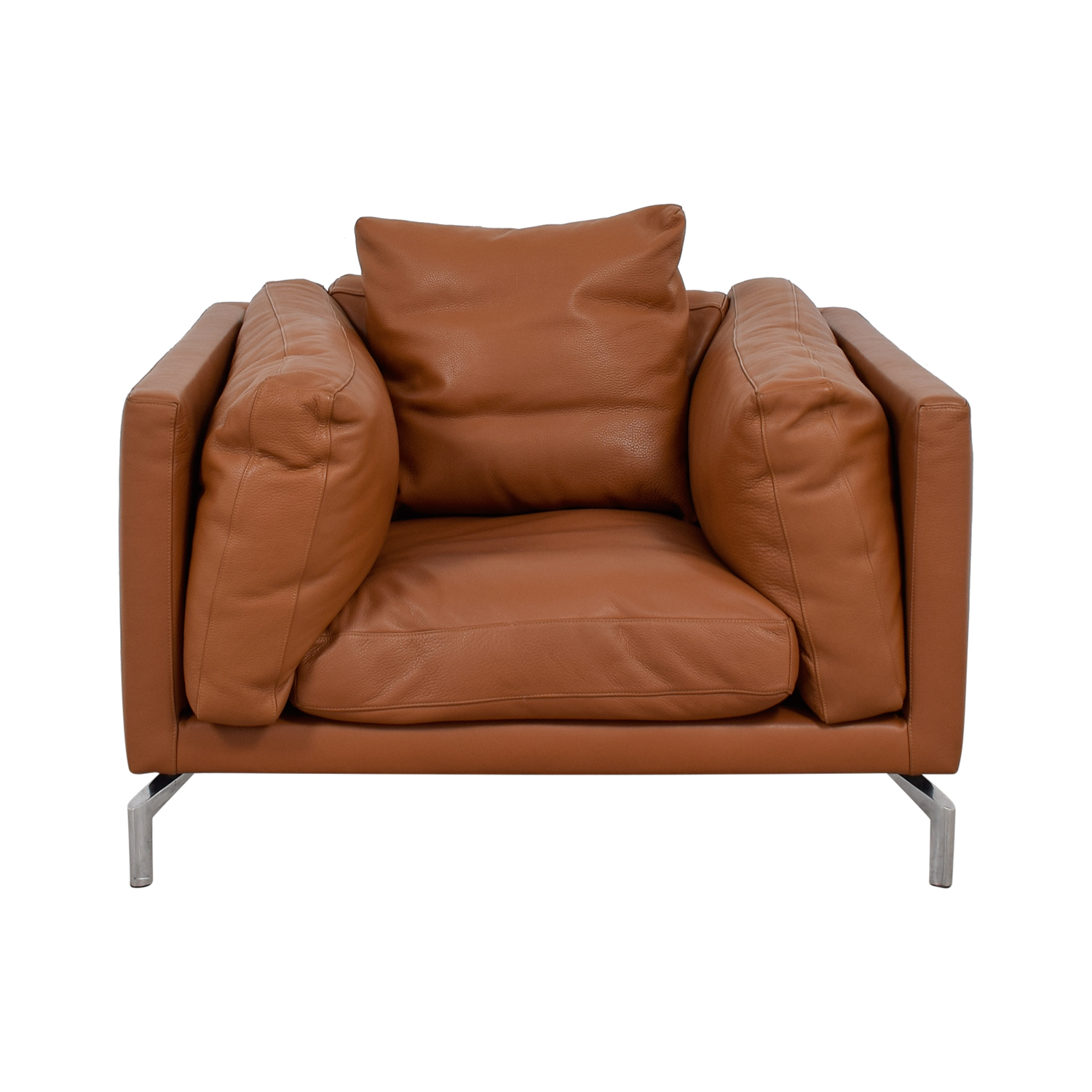 Design Within Reach Design Within Reach Leather Como Armchair nyc