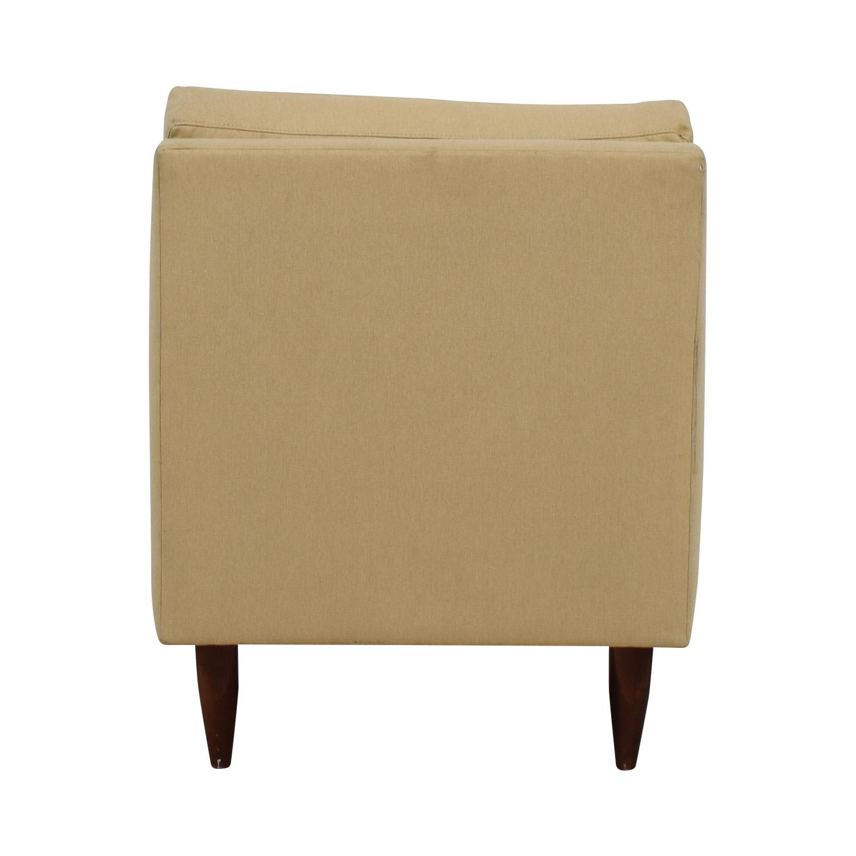 Room & Board Room & Board Beige Slipper Chair nj