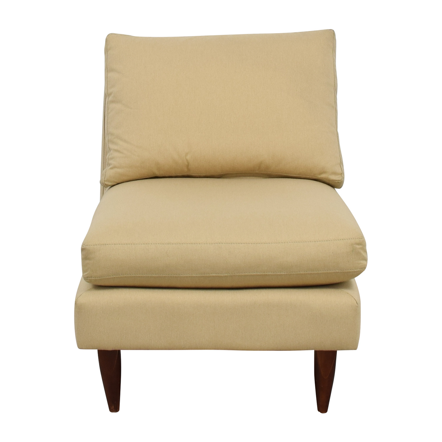 Room & Board Room & Board Beige Slipper Chair second hand