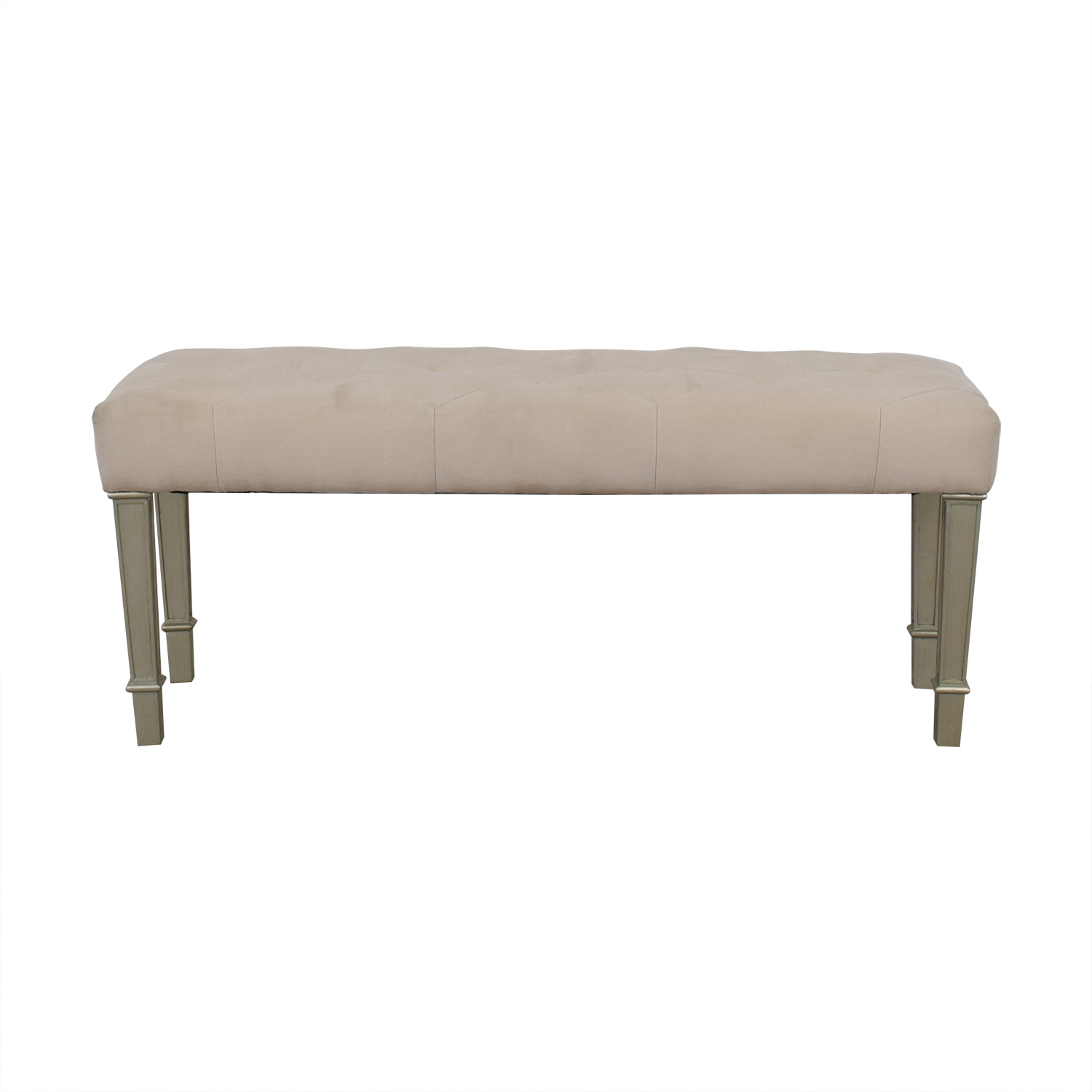 shop Pier One Hayworth Ivory Silver Bench Pier One
