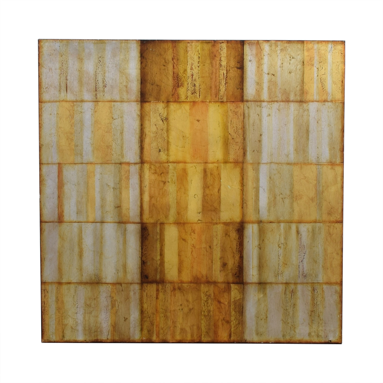 Pier 1 Pier 1 Gold Geometric Painting price