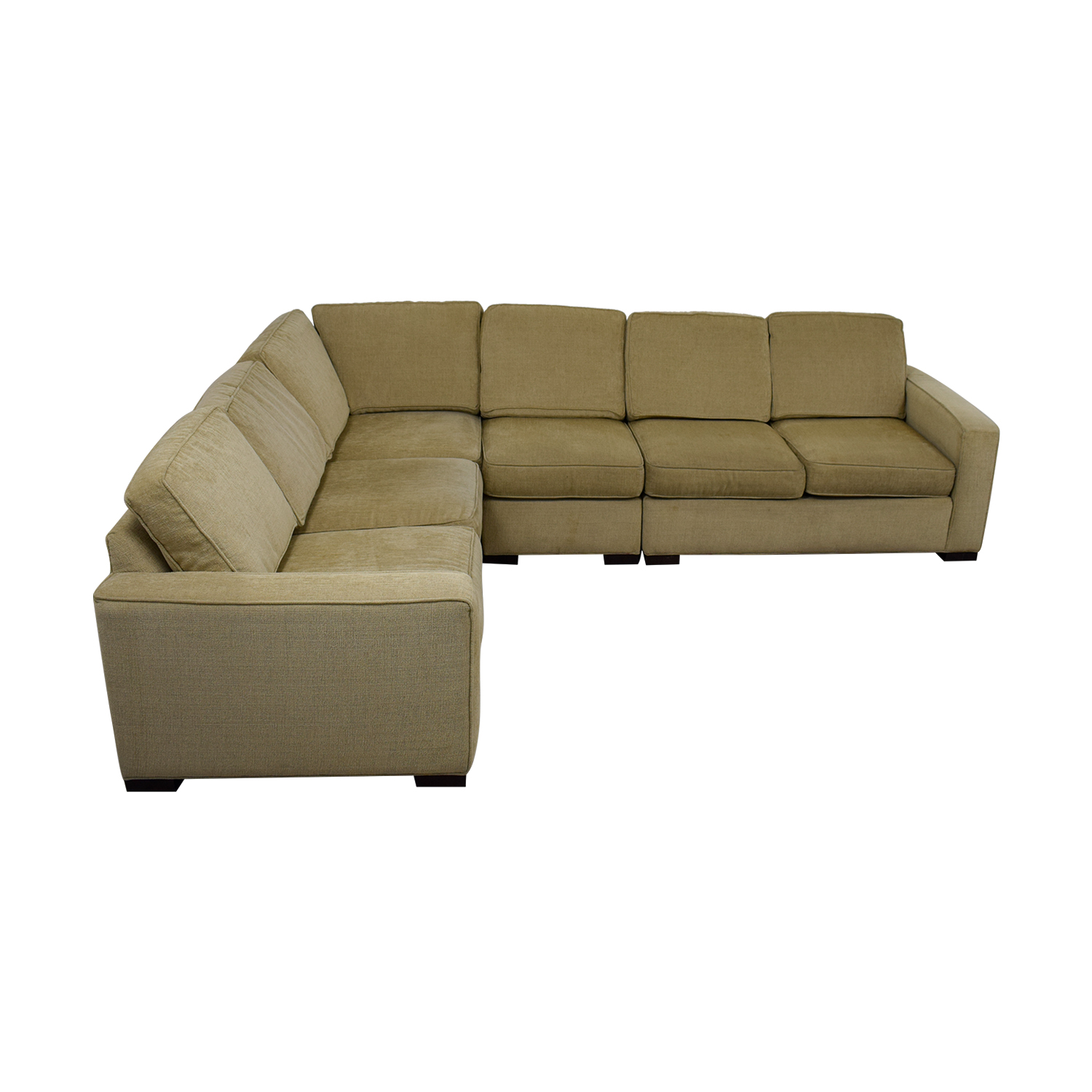 Ethan Allen Ethan Allen Tan Sectional Couch second hand