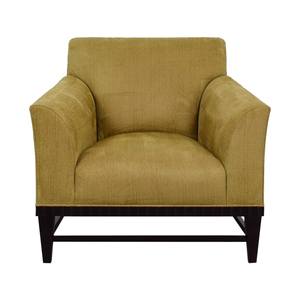 buy Barbara Barry for Baker Beige Arm Chair Baker Furniture