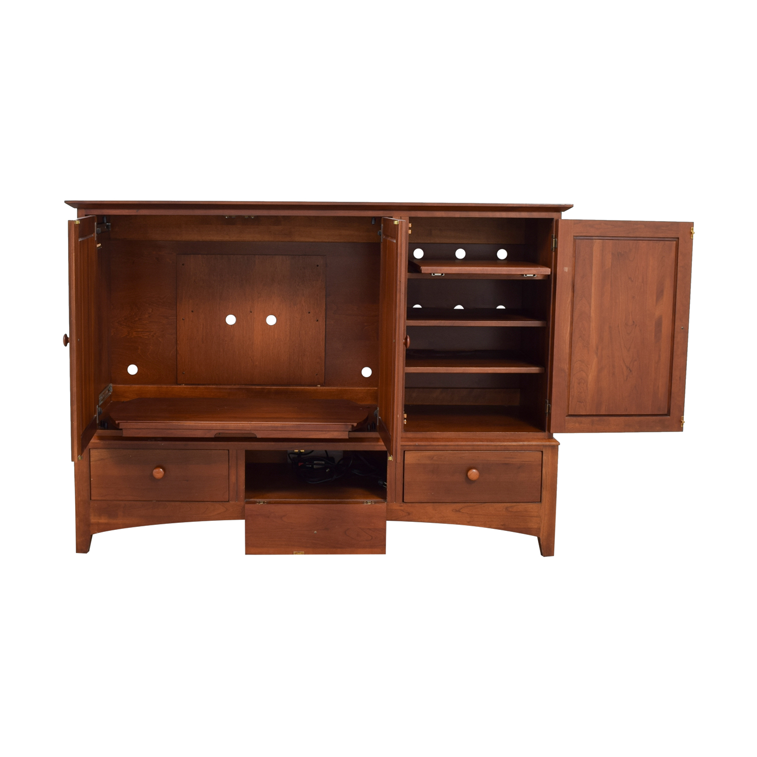 Ethan Allen Cherry Wood Entertainment / Media Units