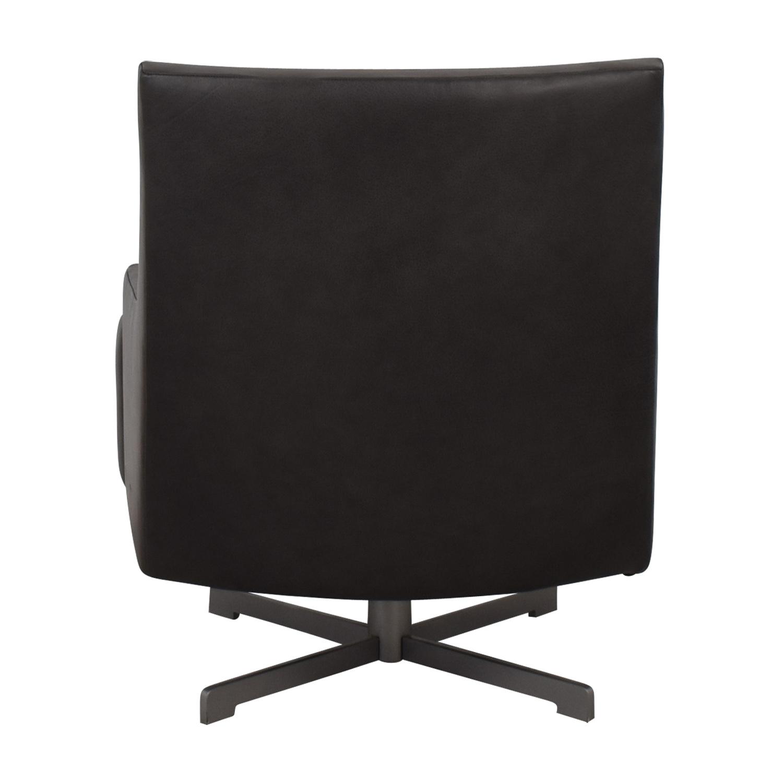 HBF HBF Dark Grey Swivel Lounge Chair coupon