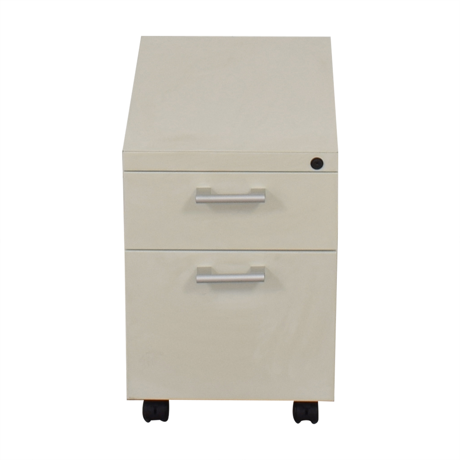 shop White Two-Drawer Filing Cabinet  Filing & Bins