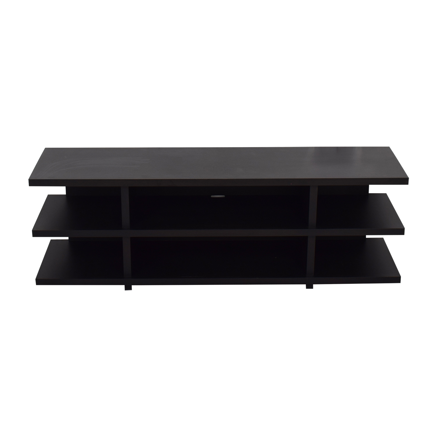 Room & Board Room & Board Graham Maple with Charcoal Stain Media Console dimensions