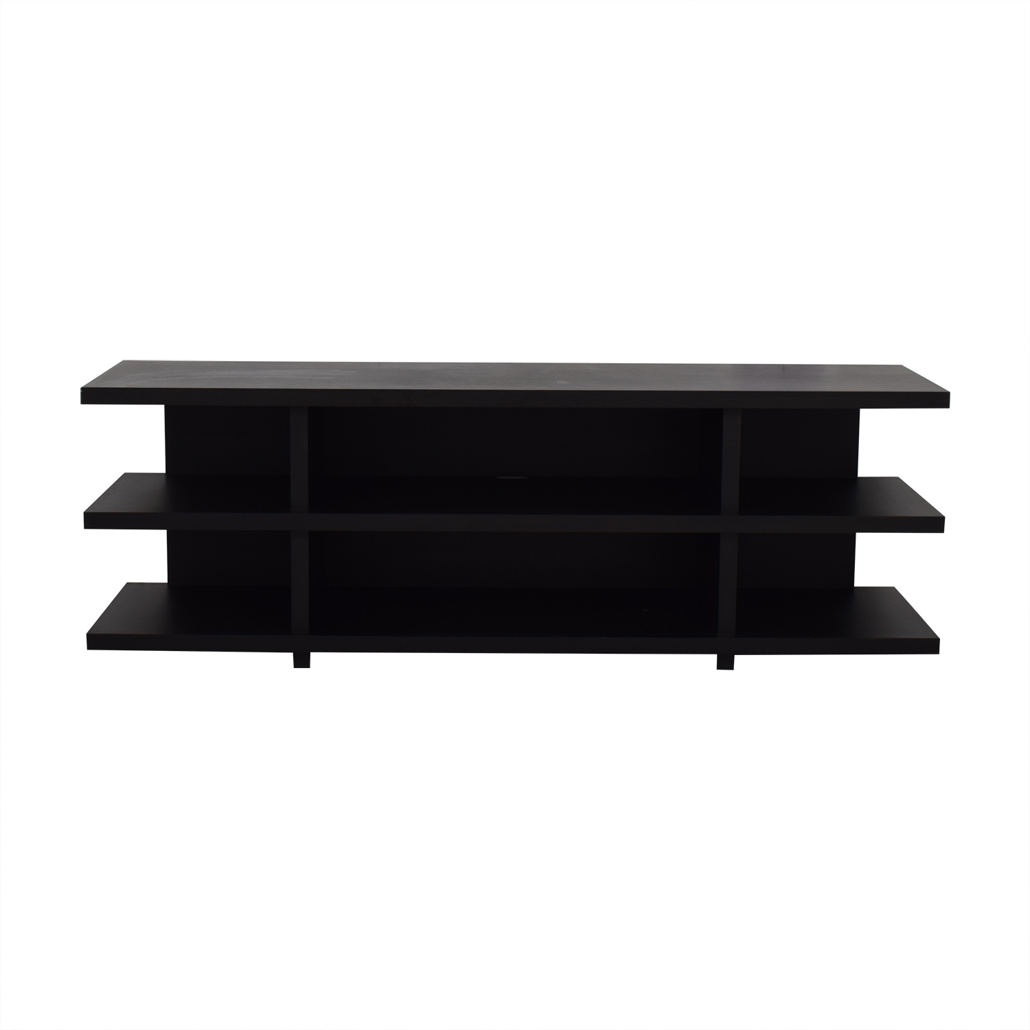 Room & Board Room & Board Graham Maple with Charcoal Stain Media Console second hand
