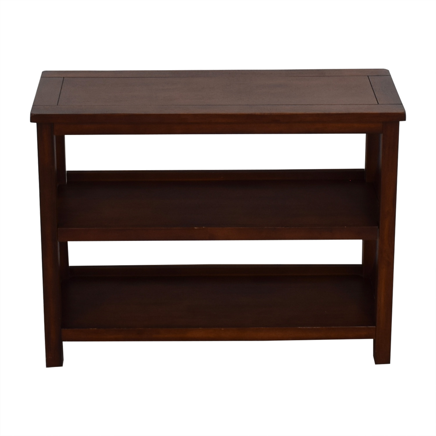 lowest price 6c620 a7dec 90% OFF - Wood Bookshelf Side Table / Tables