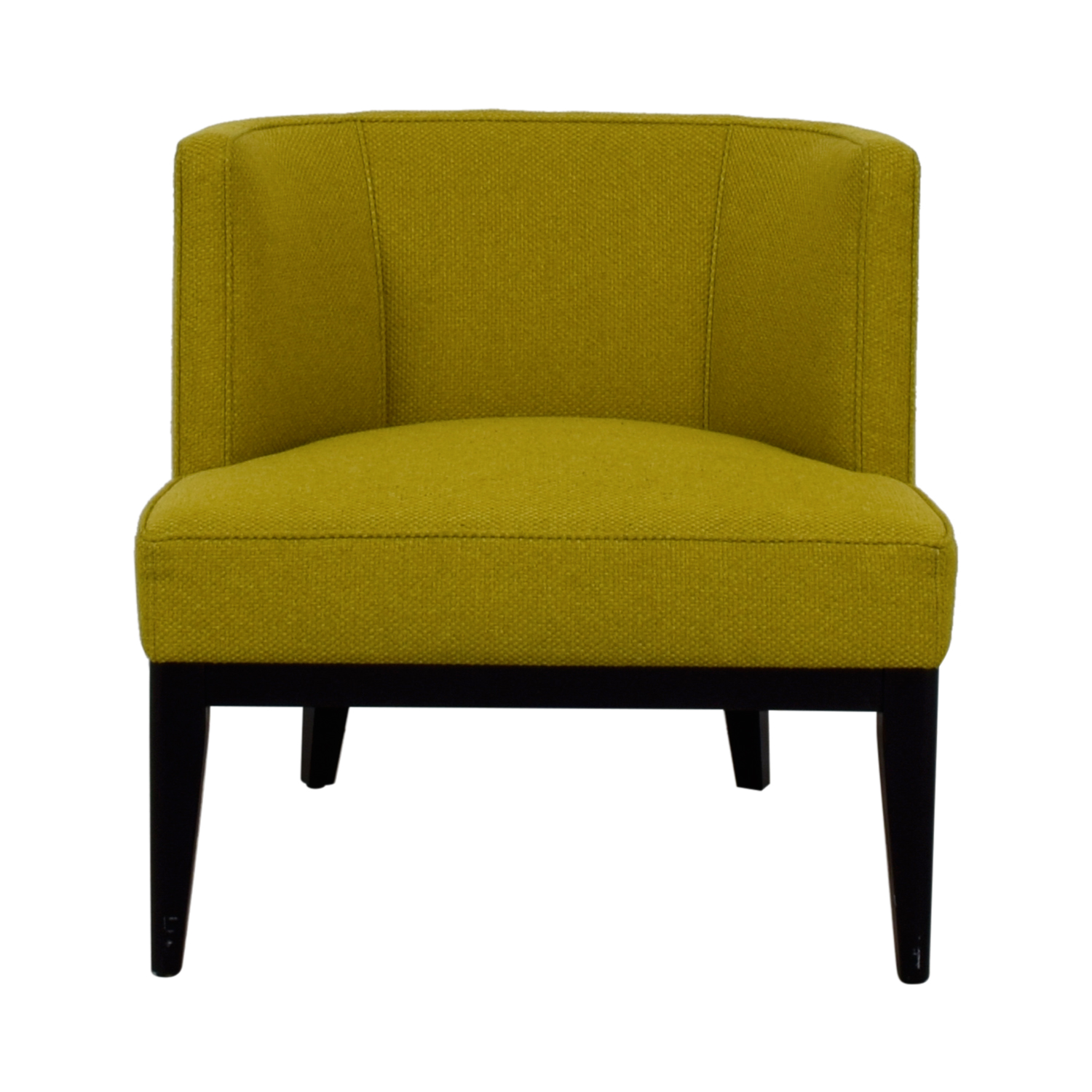 Crate & Barrel Crate & Barrel Grayson Citron Armchair second hand