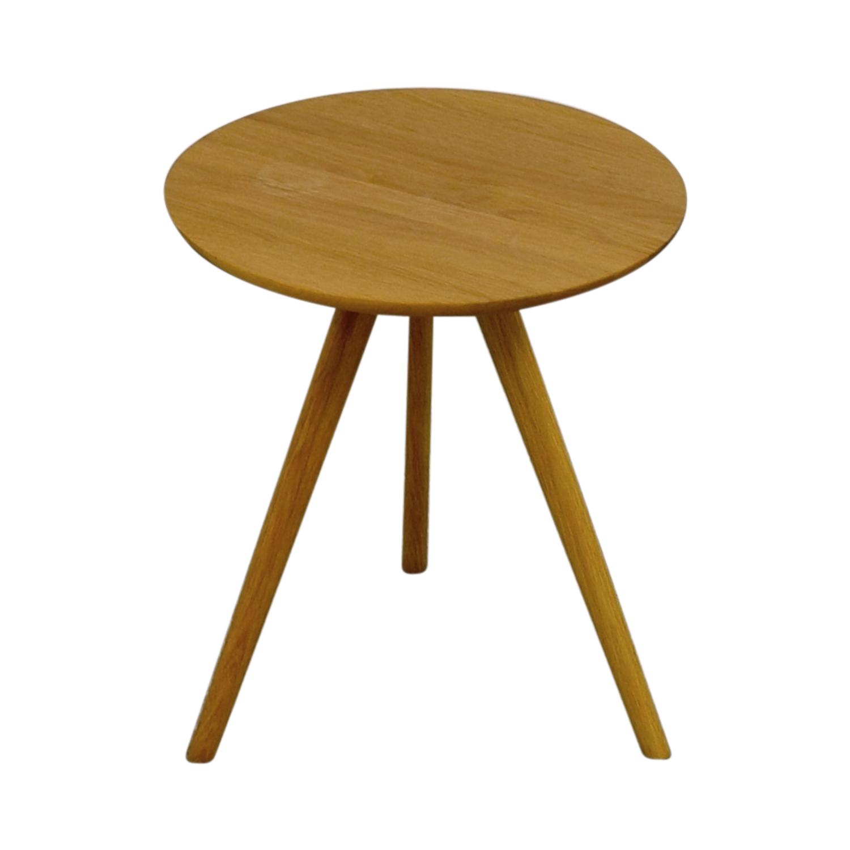 Akron Elo Round Side Table Akron