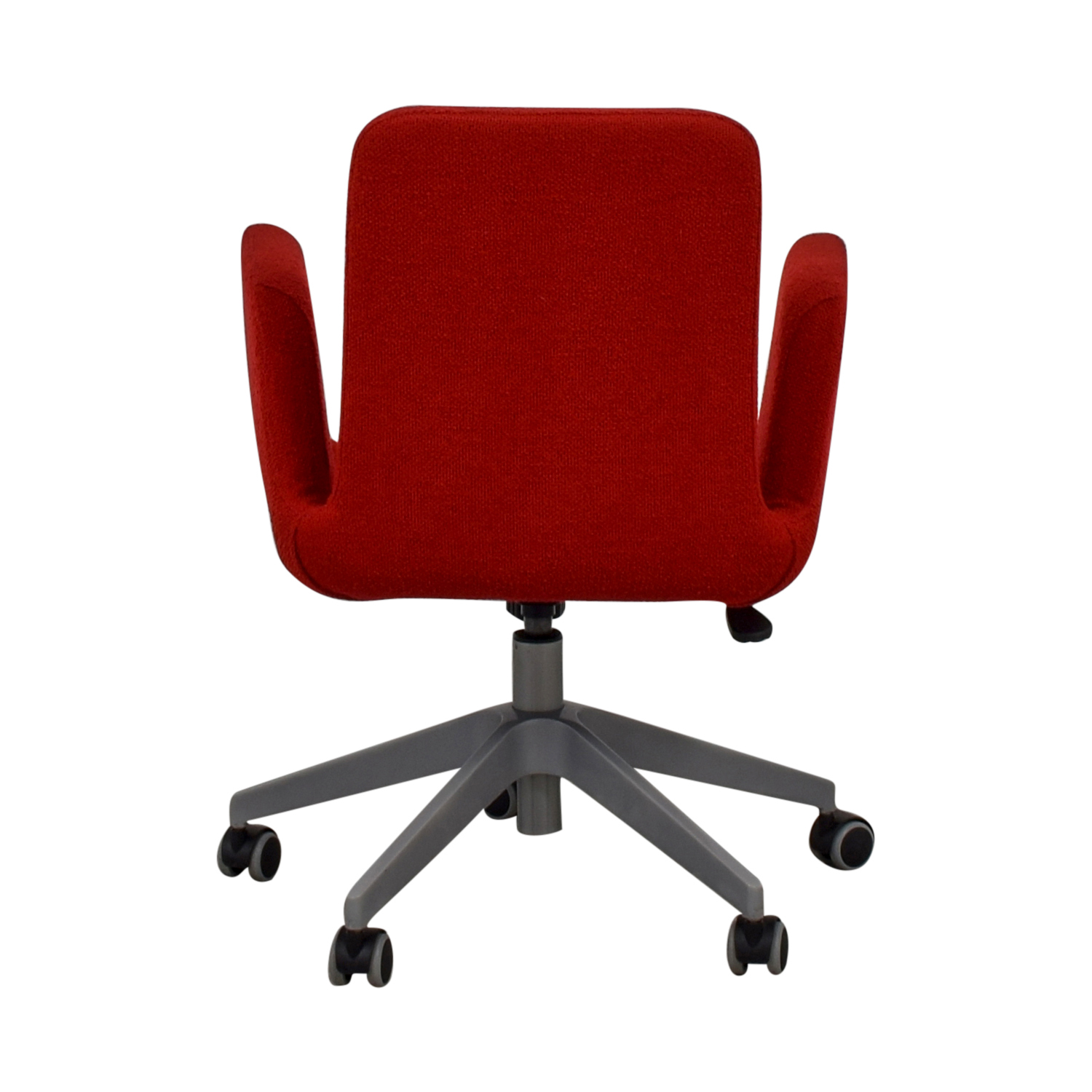 buy IKEA Patrik Red Rolling Desk Chair IKEA Home Office Chairs