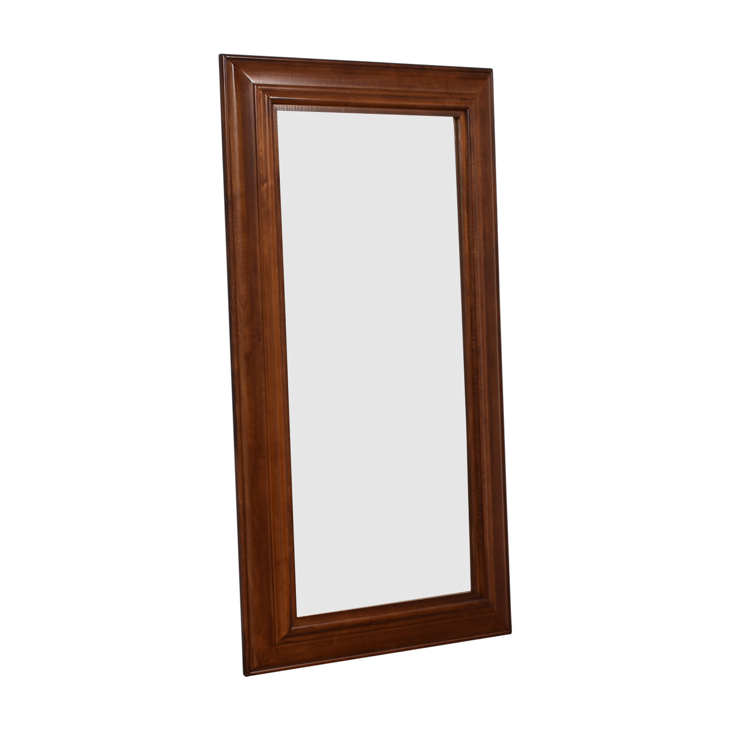 buy Pottery Barn Pottery Barn Solano Wood Framed Floor Mirror online