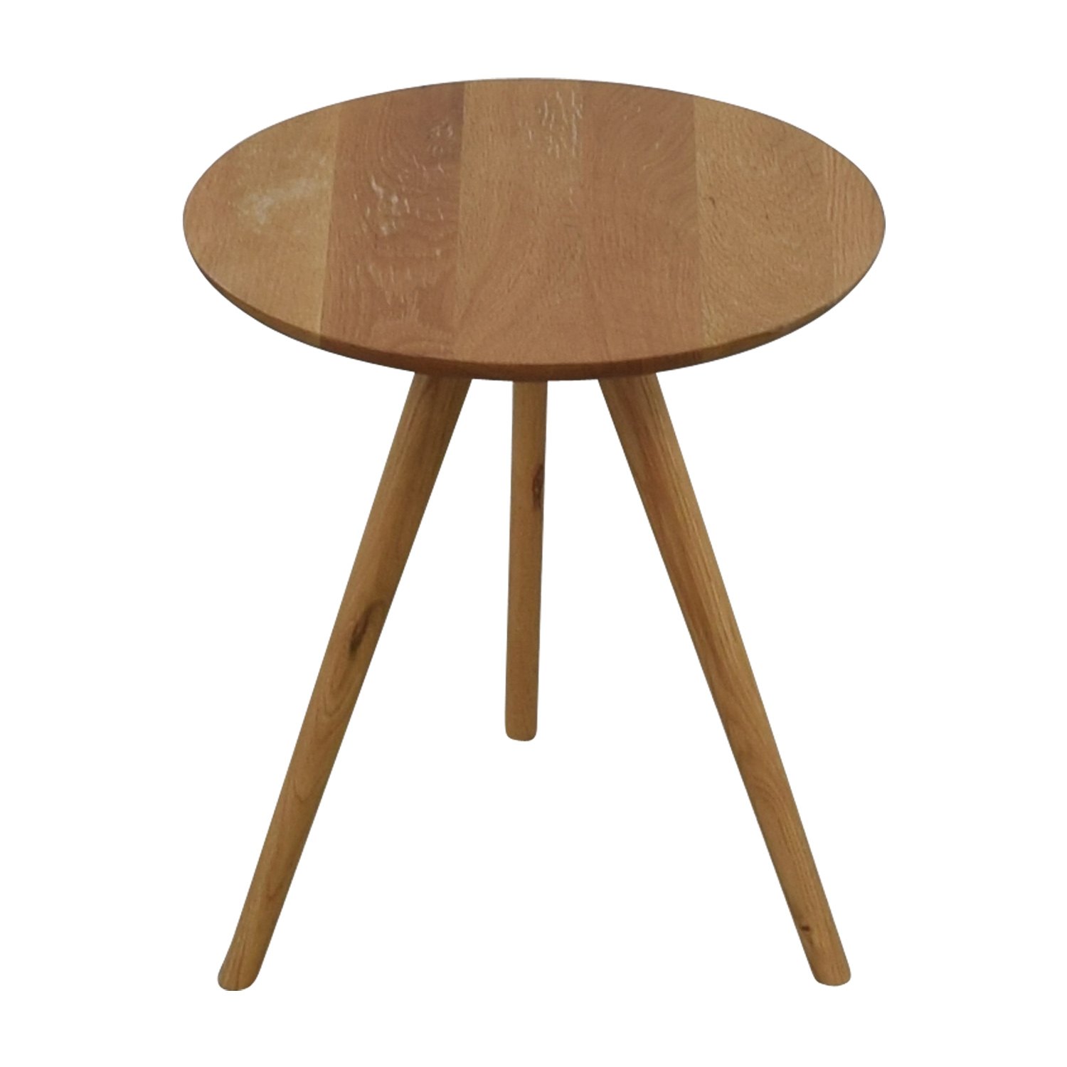 shop Akron Elo Round Side Table Akron End Tables