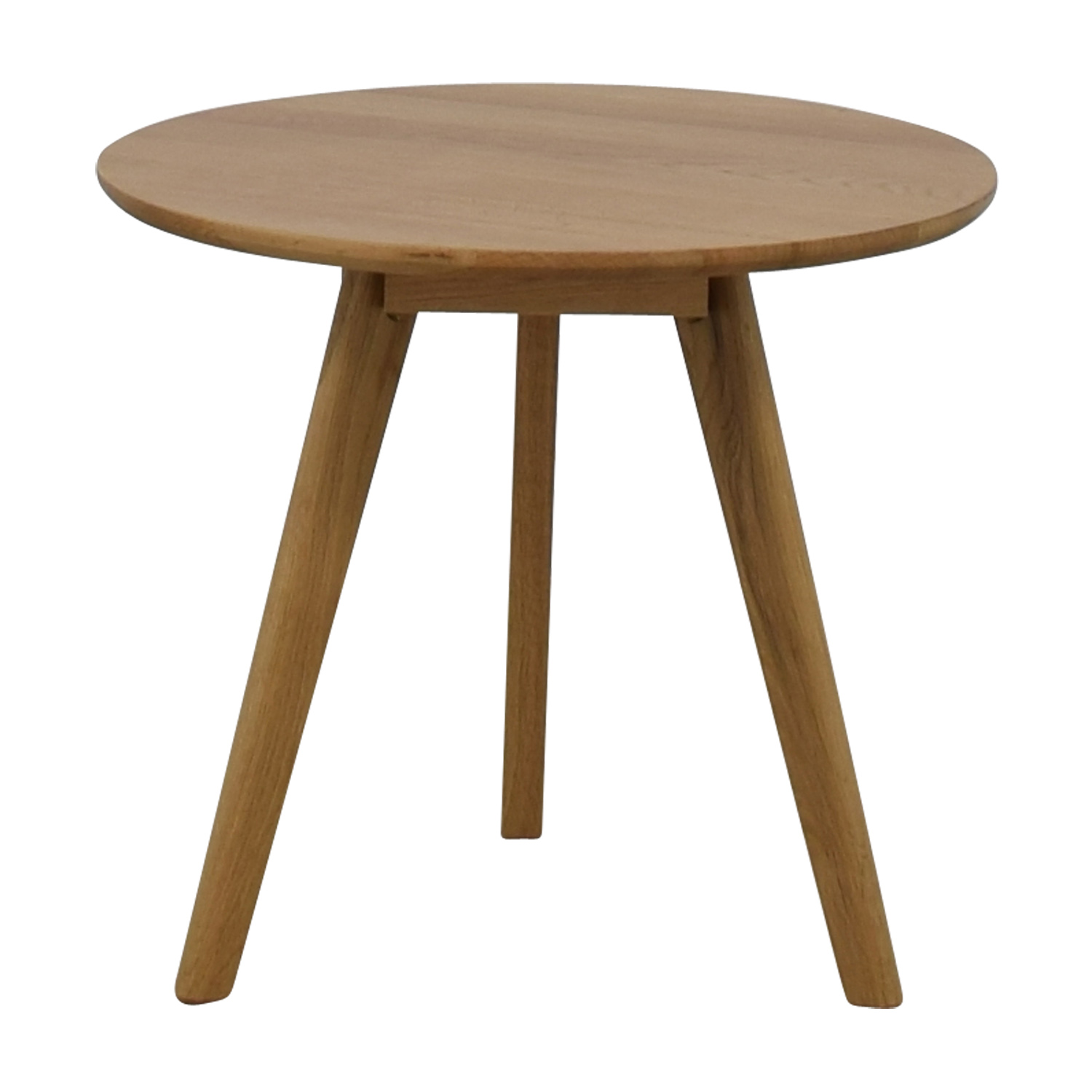 buy Akron Elo Round Side Table Akron Tables