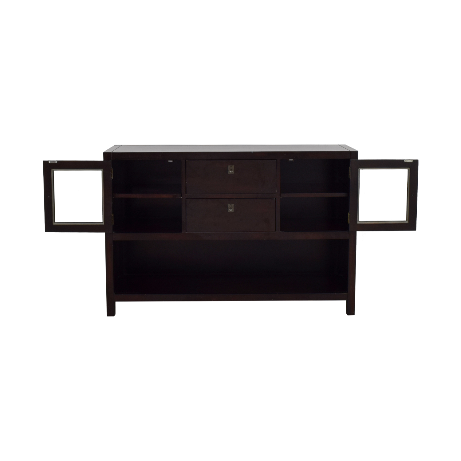 Dark Brown Credenza / Cabinets & Sideboards