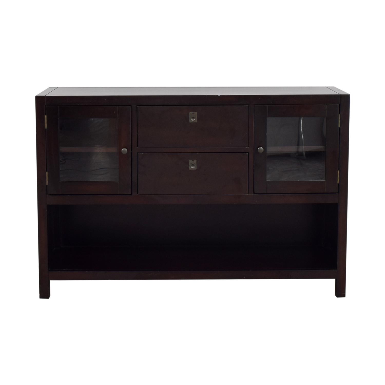 buy Dark Brown Credenza  Storage