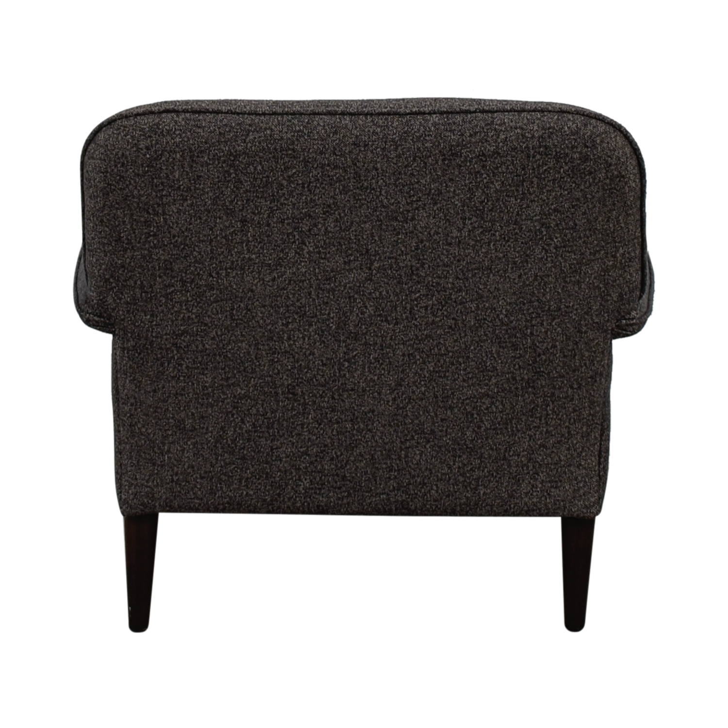 Grey Tweed Accent Chair dimensions
