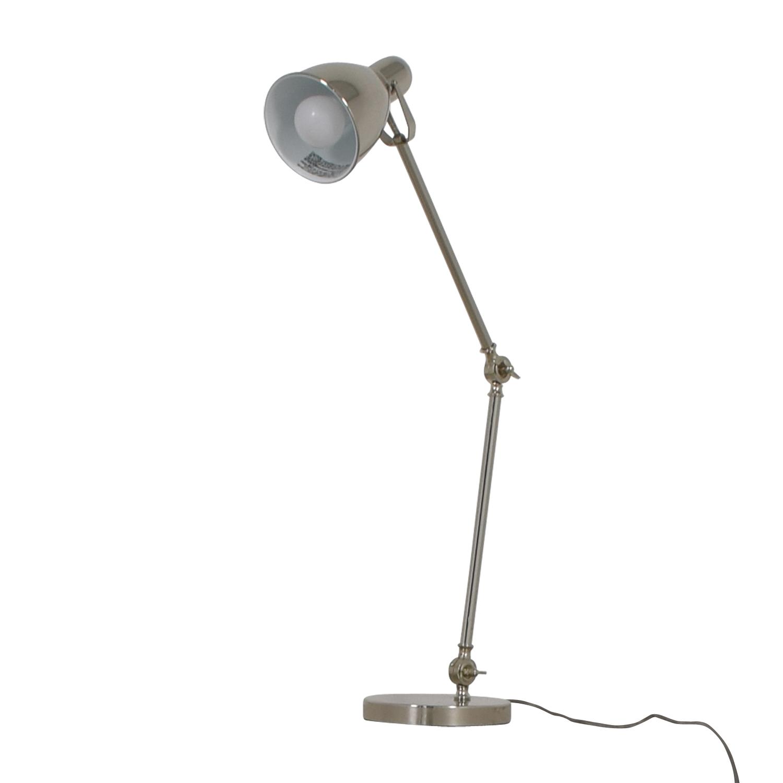 West Elm Industrial Task Table Lamp / Lamps