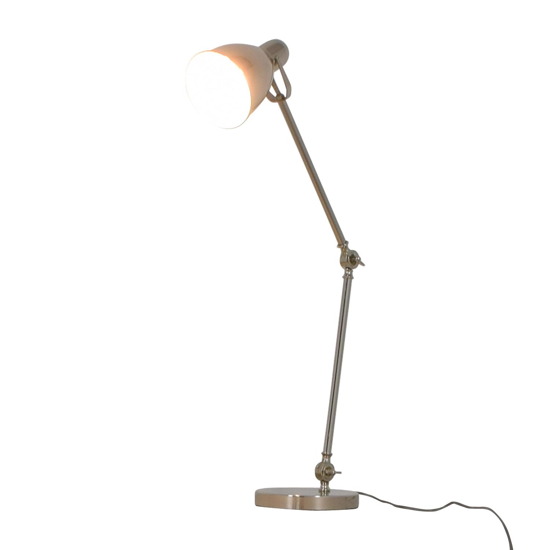 West Elm West Elm Industrial Task Table Lamp on sale