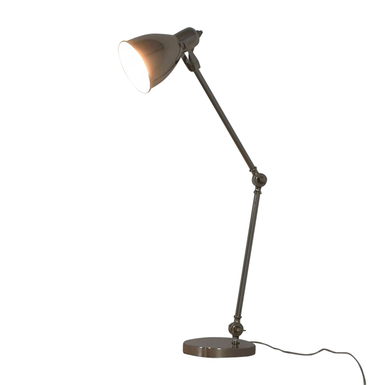 35 off west elm west elm industrial task table lamp decor. Black Bedroom Furniture Sets. Home Design Ideas