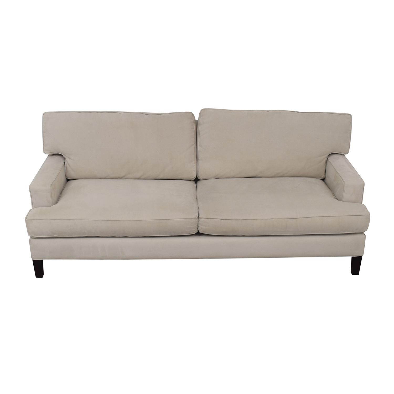 Room & Board Beige Two-Cushion Sofa Room & Board