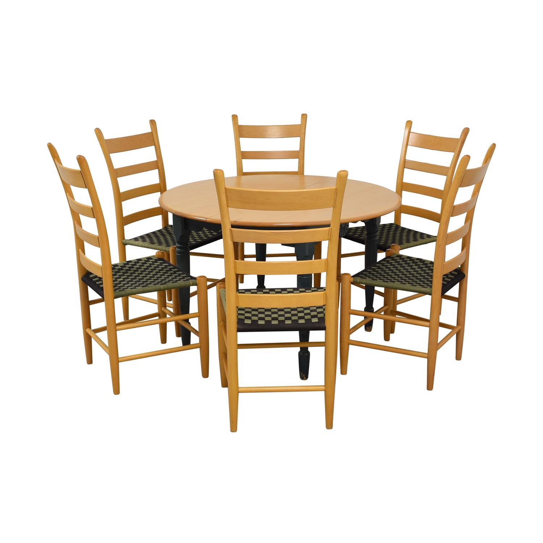 buy Nichols & Stone Round Extendable Dining Set Nichols & Stone Tables