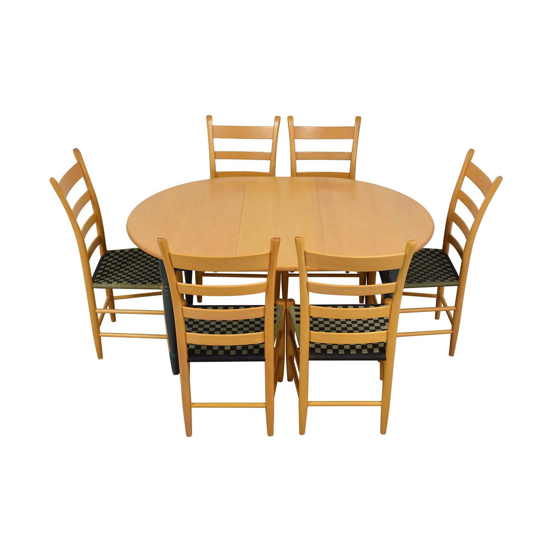 shop Nichols & Stone Round Extendable Dining Set Nichols & Stone Dining Sets
