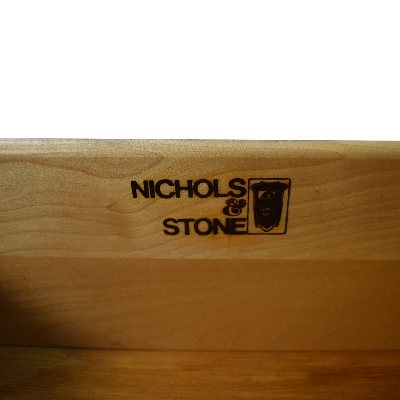 Nichols & Stone Nichols & Stone Teal Two-Drawer Hutch green