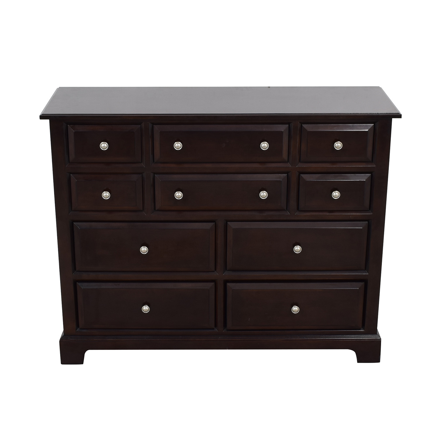 Raymour & Flanigan Raymour & Flanigan Wood Ten-Drawer Dresser used