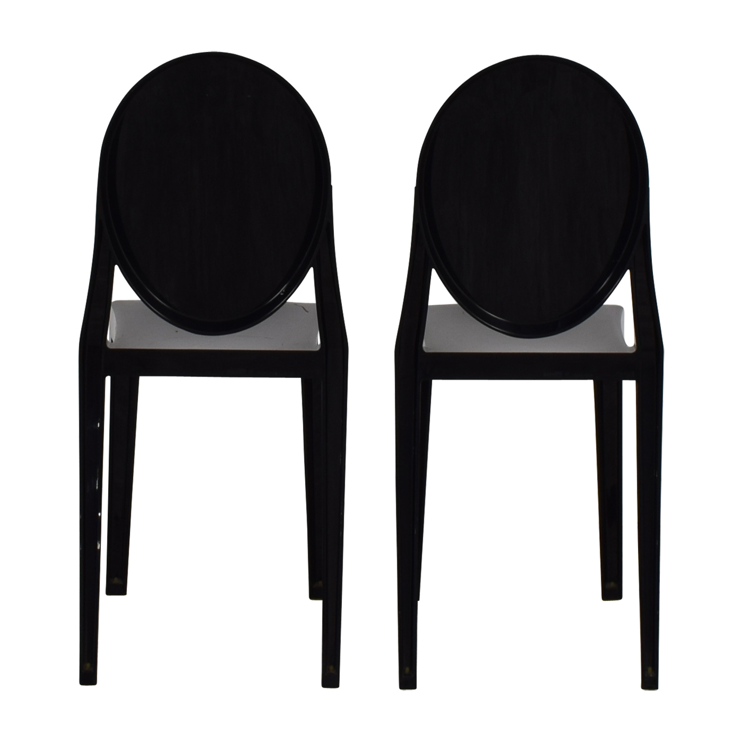 Kartell Kartell Victoria Ghost Black Chairs price