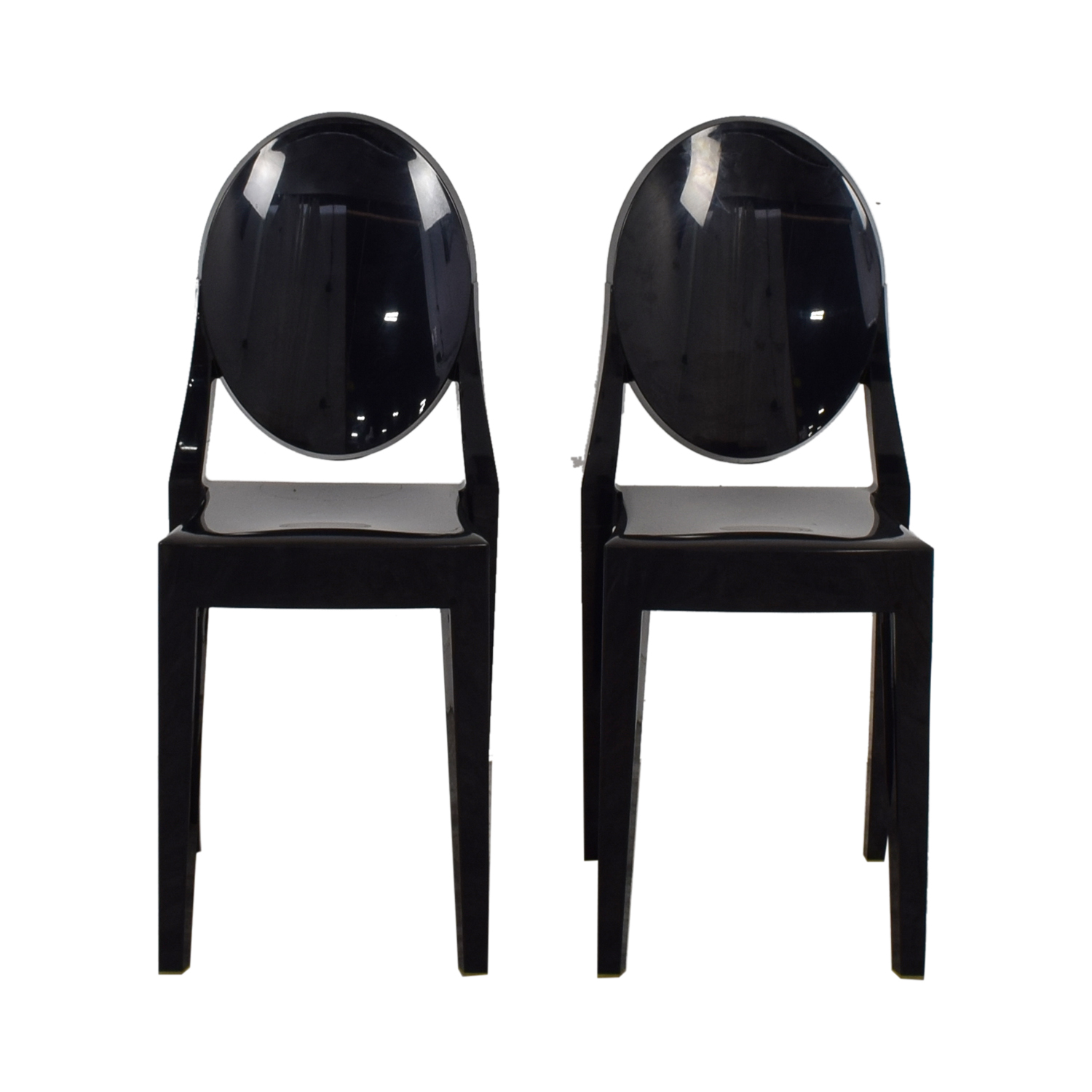 Kartell Kartell Victoria Ghost Black Chairs