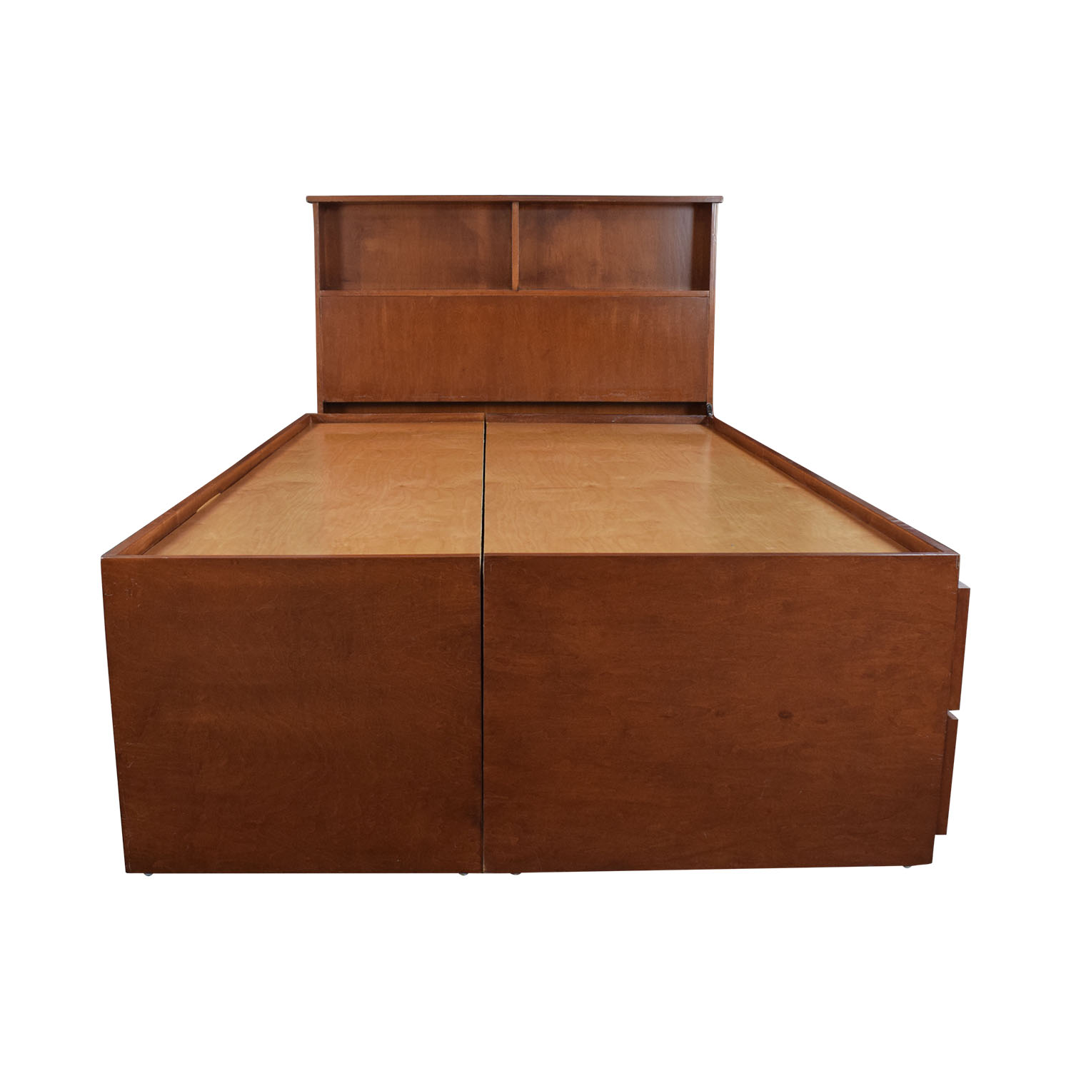 shop Gotham Cabinet Craft Wood Storage Three Quarter Bed Frame Gotham Cabinet Craft Bed Frames