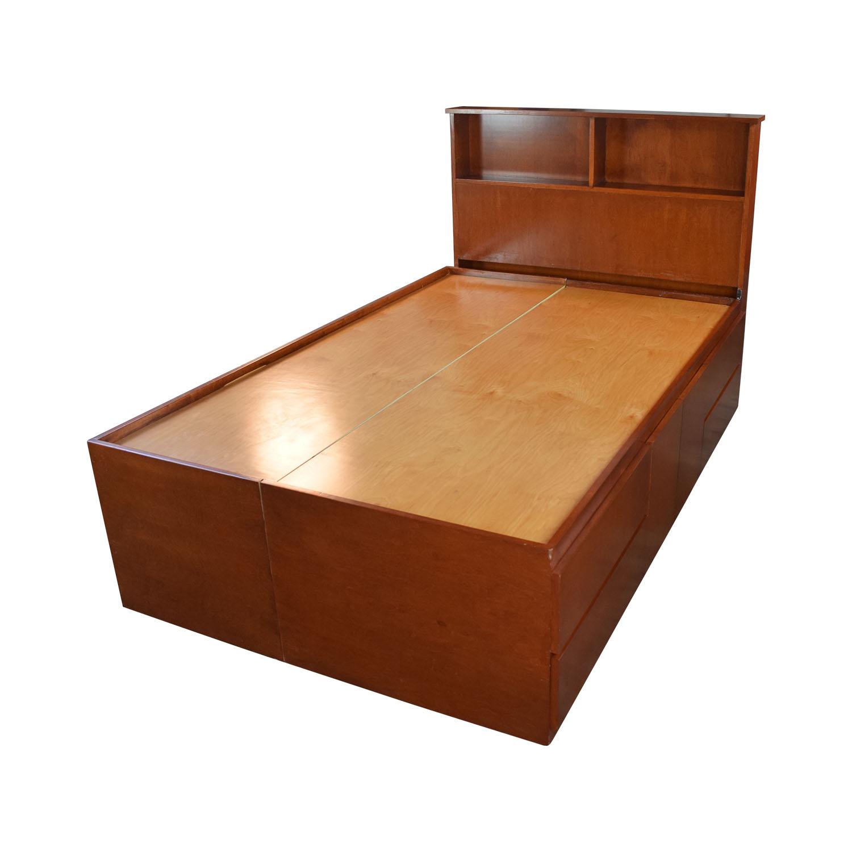 Gothic Cabinet Craft Gotham Cabinet Craft Storage Three Quarter Bed Frame second hand