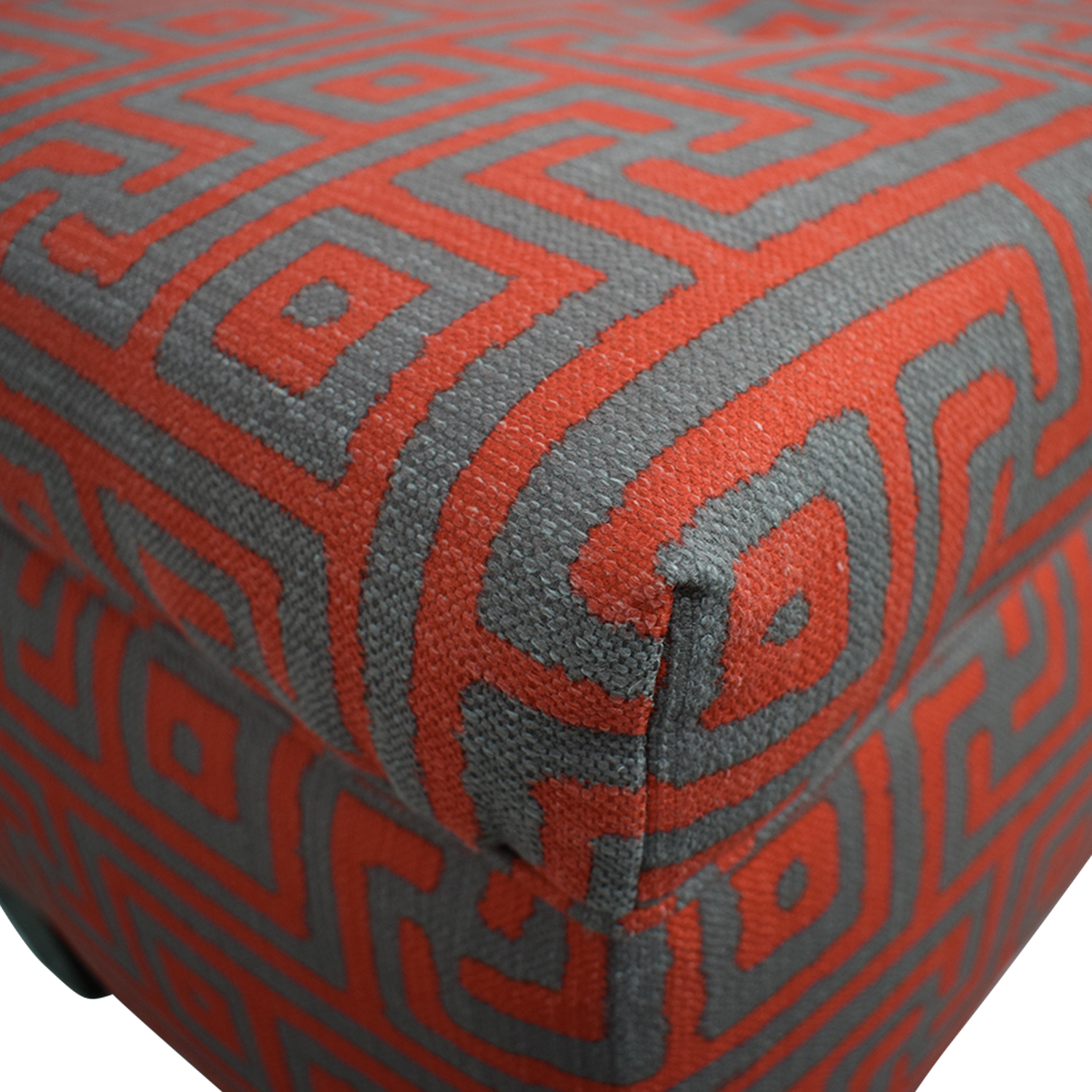 Sole Designs Sole Designs Brooke Red Upholstered Storage Bench dimensions
