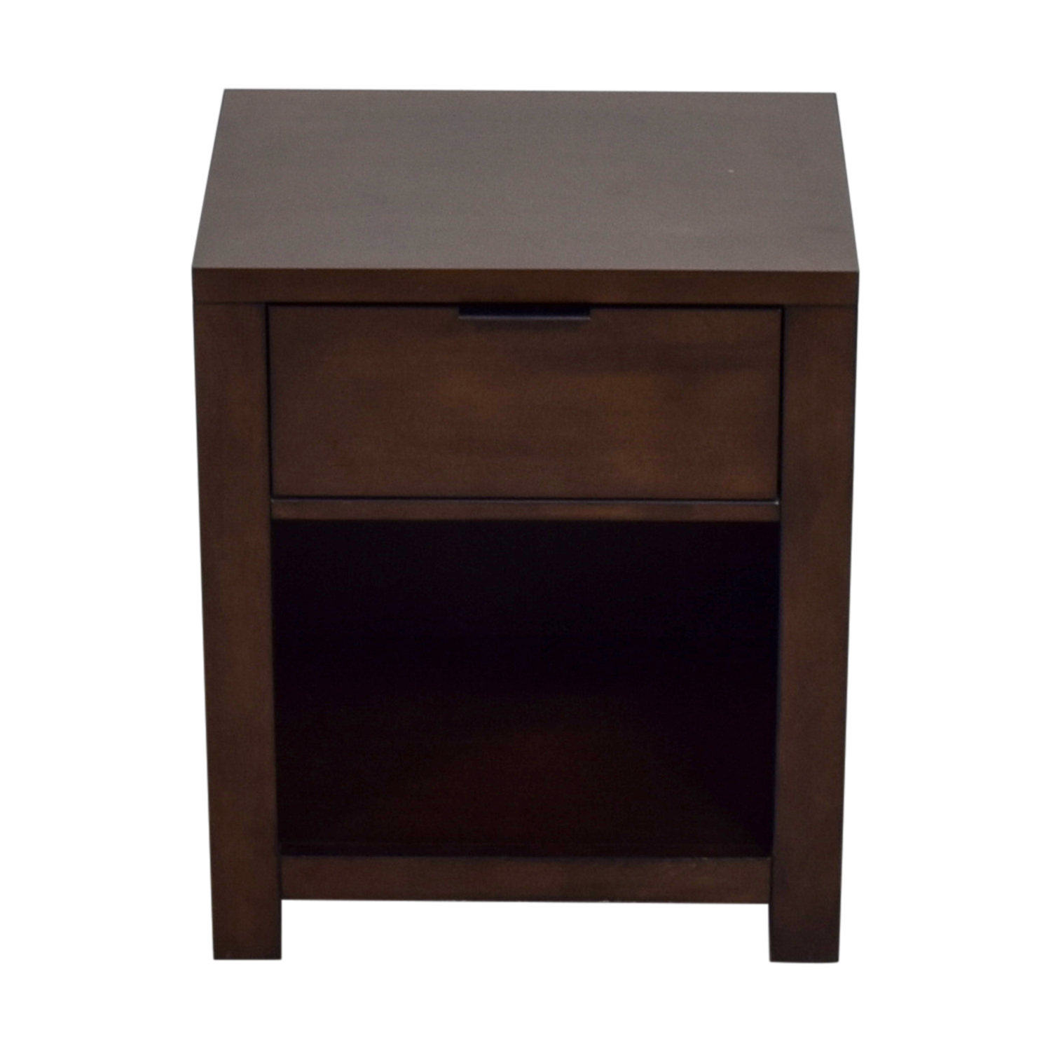 Macy's Macy's Single Drawer Wood End Table price