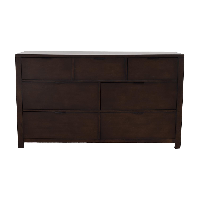Home Meridian Home Meridian Wood Seven-Drawer Dresser used