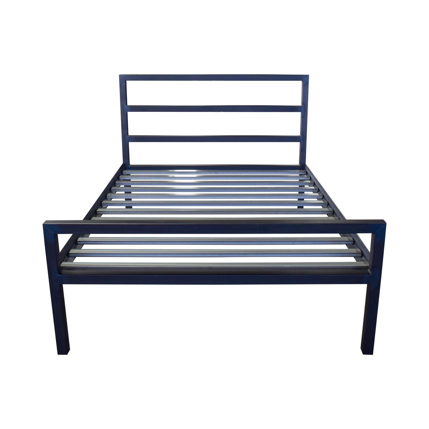 Room & Board Room & Board Gray Queen Bed Frame nyc