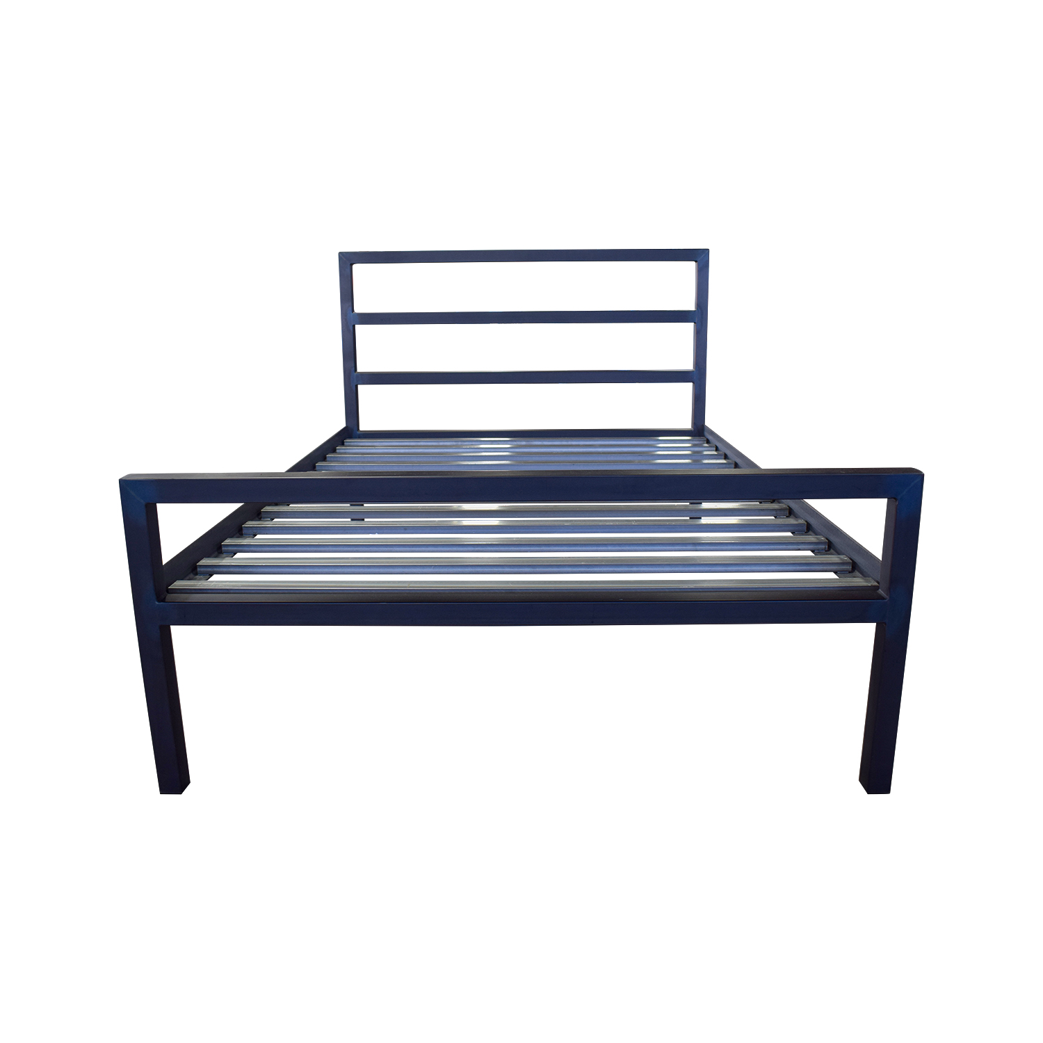 shop Room & Board Gray Queen Bed Frame Room & Board Bed Frames