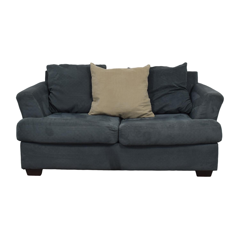 Ashley Furniture Ashley Furniture Signature Mindy Indigo Two-Cushion Loveseat discount