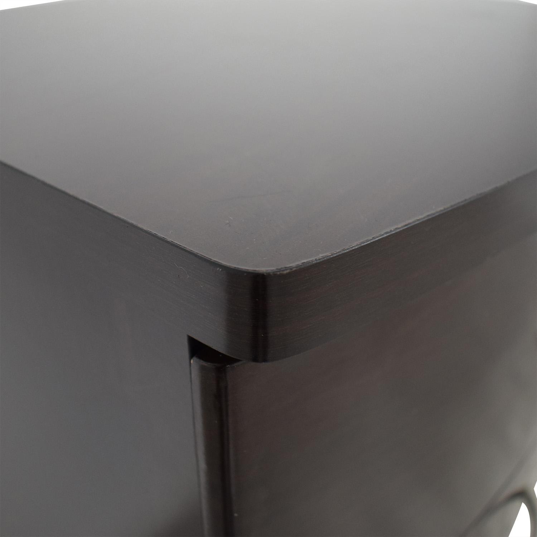 Tall Boy Five Drawer Dresser brown
