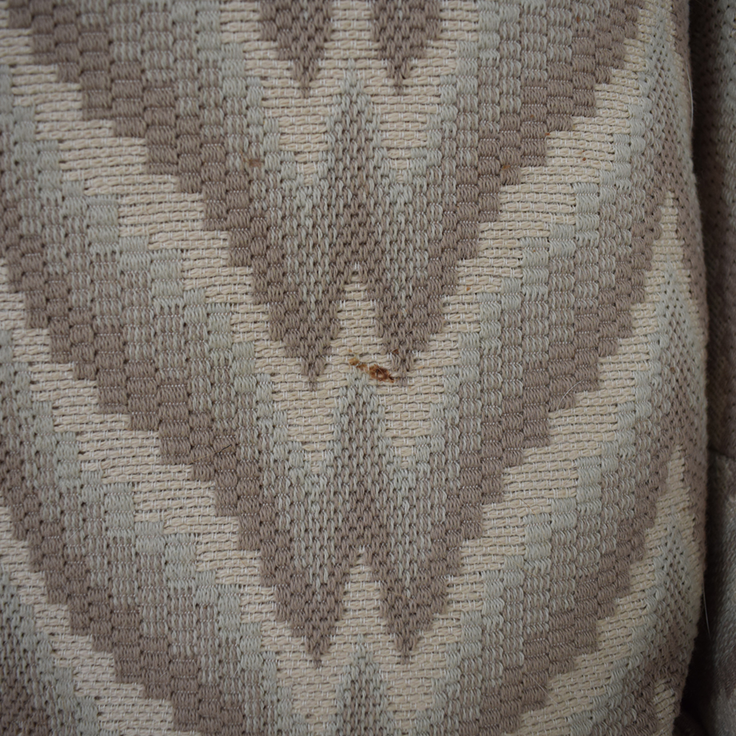 The Hickory Chair Furniture Co. The Hickory Chair Furniture Co. Chevron Nailhead Loveseat