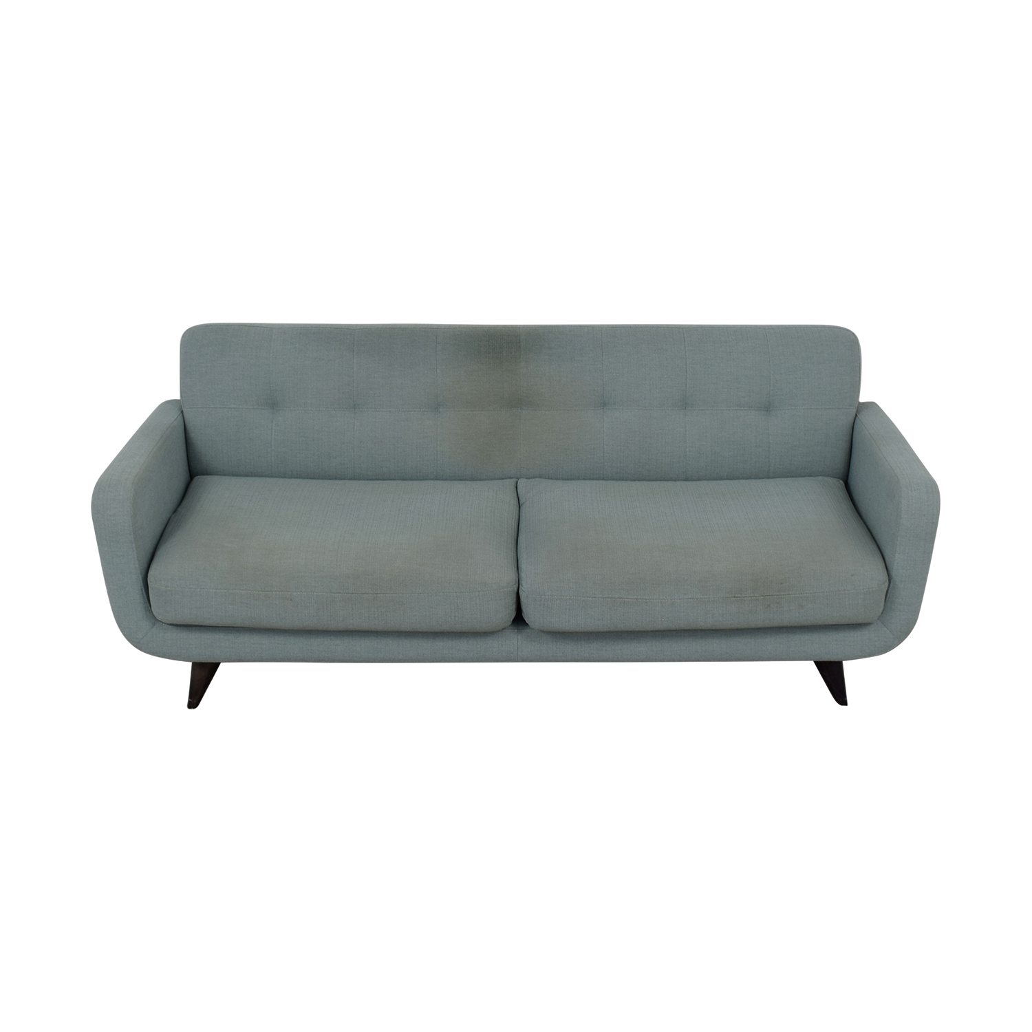 Room & Board Room & Board Anson Grey Two-Cushion Sofa on sale